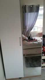 Brand new still boxed sigle daybed and double wardrobe from bensons for beds