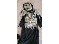 Kids scary dress up costume 4-5