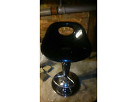 Black bar stool for sale