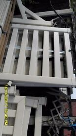 upvc hollow railing and posts