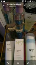No7 products cleanser scrub masks or as a joblot
