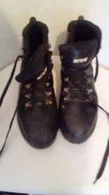 Steel cap boots