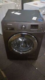 SAMSUNG 8KG WASHING MACHINE new ex display which may have minor marks or blemishes.