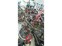 Joblot of racing bikes for sale