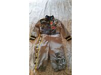 Disney Planes Dusty Mechanic Overalls Outfit 2-3 Years