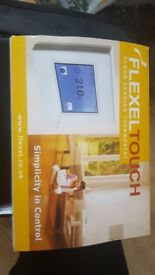 Tile and stone underfloor heating matt and touchscreen thermostat 2m2