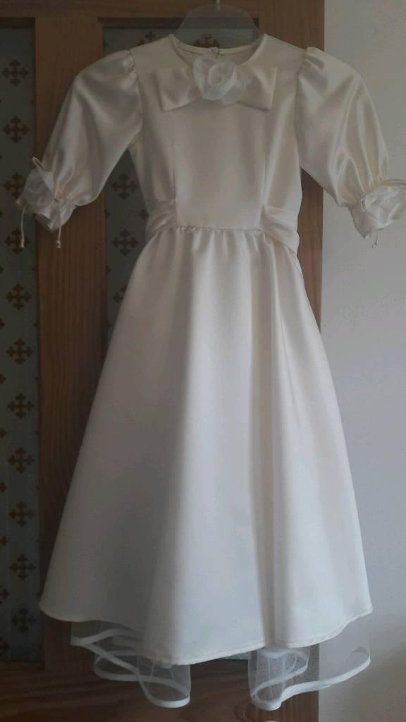 Flower girl dress, 3-4 yrs