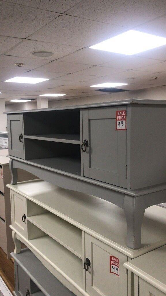 new concept c5ff2 ddbc3 dark grey TV unit | in Aston, West Midlands | Gumtree