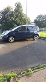 nissan note great wee car general wear and tear for age m.o.t till march