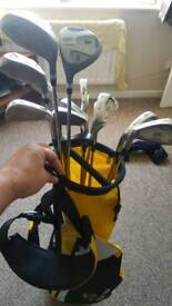 Full set Left Handed regal golf clubs with bag