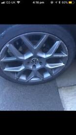 "Vw/Audi 18"" alloys and tyres"