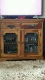 Jhali Solid Wood Cabinet