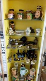 Everything £5 cabinet character mugs, ornaments, jugs, collectable