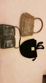 3 x Vintage Hangbags