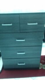 5 chest of drawers