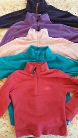 5 Kids fleeces/ skiing tops