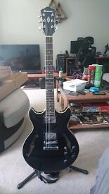 Ibanez Am73 black. Basically new, in original box. Also selling Yamaha THR5 Amp with original box