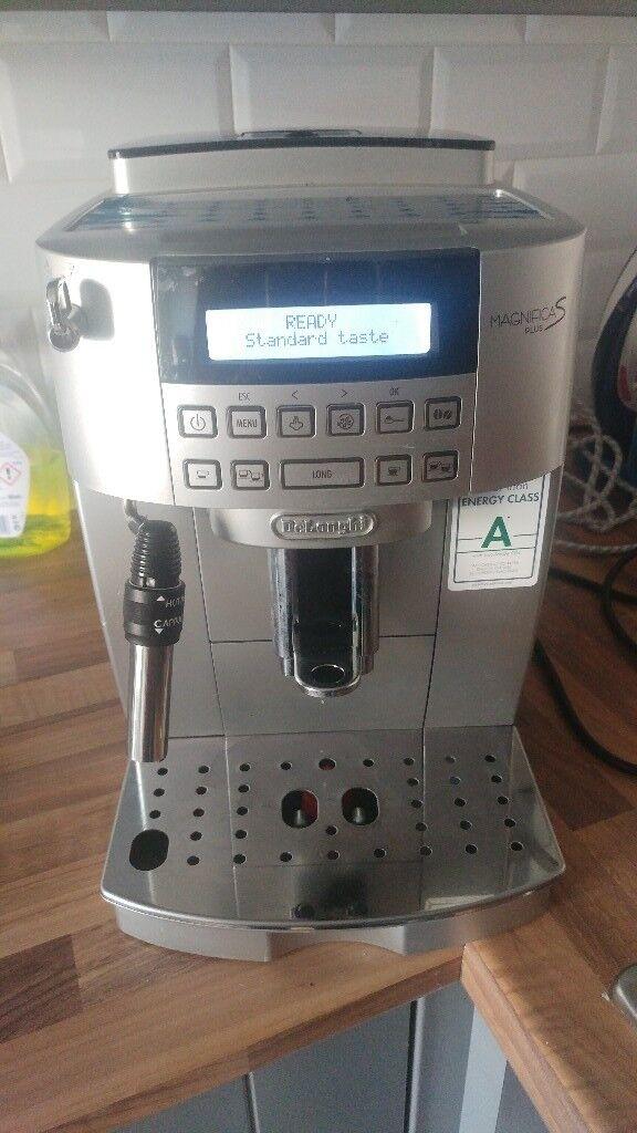 Delonghi Magnifica S Plus Bean to Cup Espresso Coffee ...
