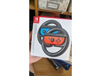 Nintendo Switch Joy con wheel pair
