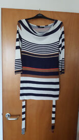 Lovely cowl neck classic striped top by BHS. Never worn £1.50