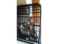 Double bunk bed good condition with double mattress,