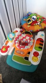 Step and Play by Fisher Price for babies aged 6-12 months.