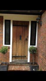 Original 1930's Oak Front Door