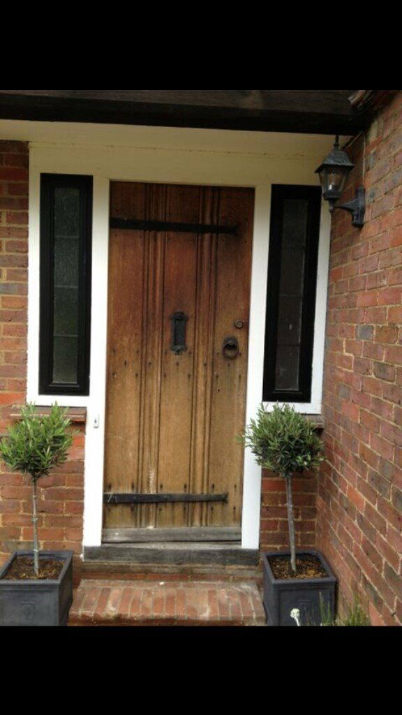 Original 1930's Oak Front Door