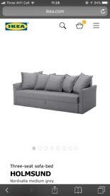 IKEA SOFA BED HARDLY USED RRP £495