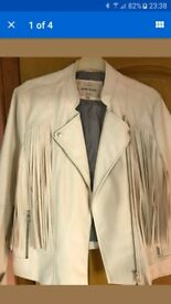 River island faux leather jacket size 18