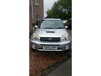 2005 Toyota Rav4 2.0 D-4D Diesel 5 dr with only 107k **Price reduced for quick sell*****