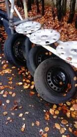 Tyres 2x 195 2x 205 15inch