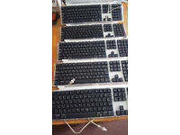 Used wired USB ORIGINAL APPLE KEYBOARD, English- Arabic- £10