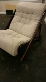 Reclining single chair