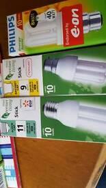 Energy saving Light bulbs x 3