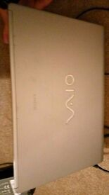 Cheap and fast laptop Sony Vaio 14 inch Screen Windows 7