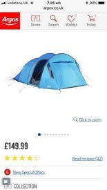 Vango 5 Berth Tent,used once !! RRP £150 !!