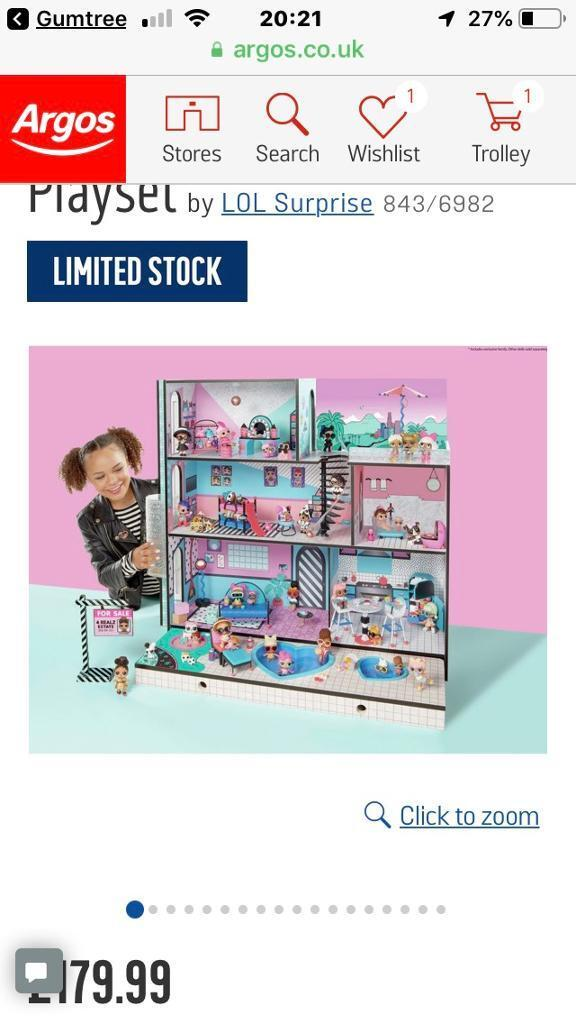 Lol Doll House Brand New In Box In Liverpool Merseyside Gumtree