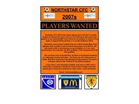 Football Players Born in 2007 wanted