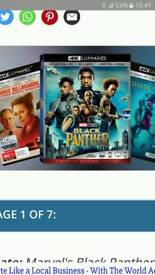 4k UHD bluray movie only (COPIES) various titles