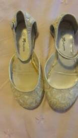 Monsoon girls shoes size 11