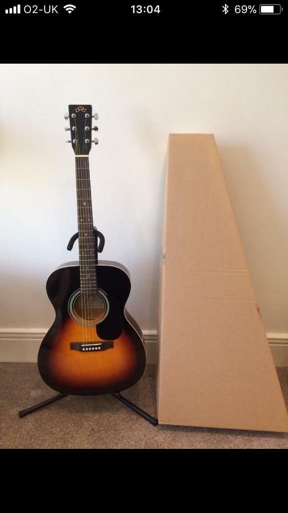 Acoustic guitar brand new with box