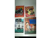 4 children's paperback books