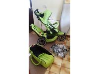 Phil and teds double buggy /pram