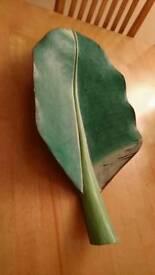 Decorative leaf wood