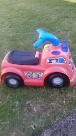 Fisher Price Ride on Fire Engine