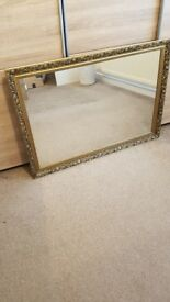 Mirror - antique style gold mirror