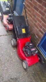 Briggs & Stratton petrol lawn mowers