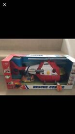 Kids Rescue Copter toy.