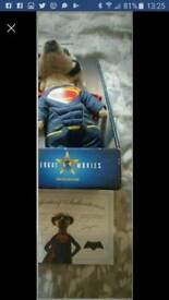 Compare the meerkat sergi superman in excellent condition with presentation box & certificate discon